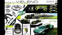 Bizzarrini Veleno Concept by Borys Dabrowski