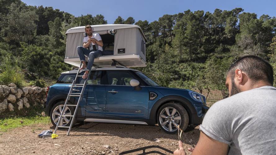 Mini Countryman accessory caters for freedom campers