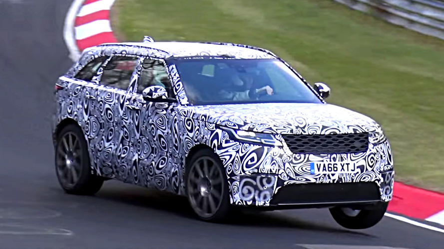 2019 Range Rover Velar SVR Spied Playing Its Raspy Soundtrack