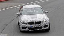 BMW M5 2018 fotos espía Nurburgring
