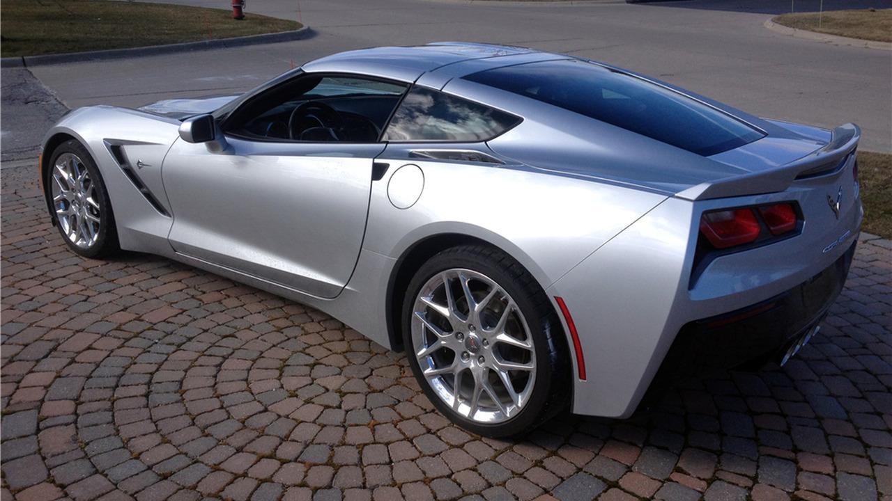 Chevy Corvette Auction Barrett-Jackson
