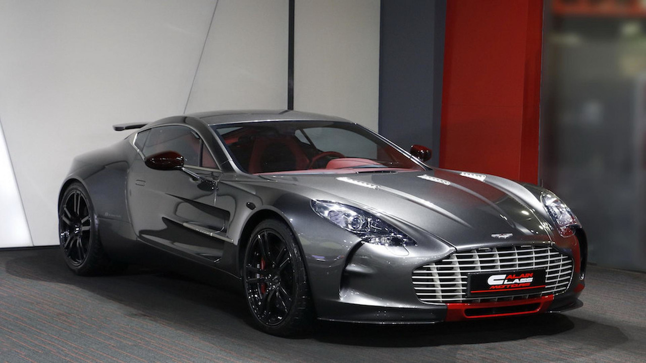 barely used aston martin one 77 q series needs a new home. Black Bedroom Furniture Sets. Home Design Ideas