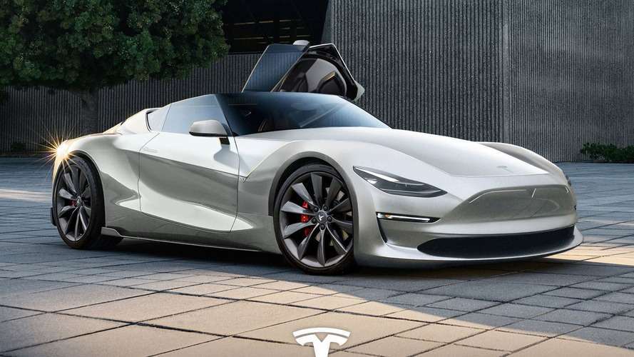 We Hope The 2019 Tesla Roadster Looks This Good