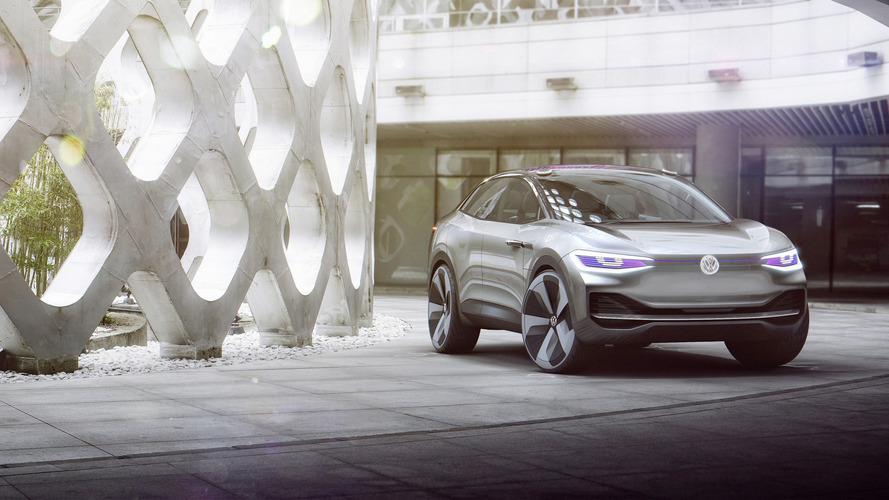 I.D. Crozz néven mutatkozott be a VW elektromos crossover tanulmánya