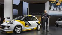 Opel Adam R2 concept live in Geneva 05.3.2013