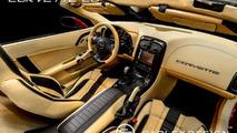 Carlex restyles Corvette C6 Convertible interior