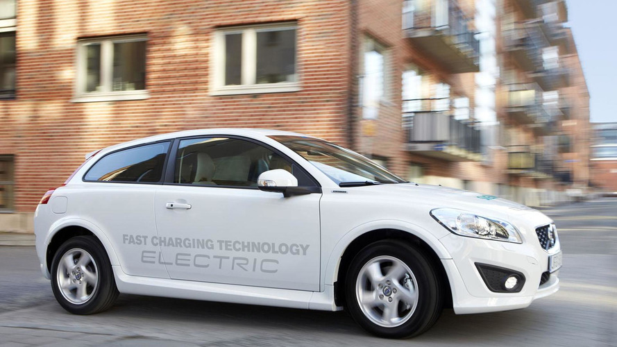 Updated Volvo C30 Electric charges in just 1.5 hours