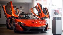 McLaren P1 at McLaren Newport Beach dealership 07.06.2013