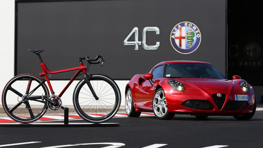 Alfa Romeo 4C gets a two-wheel version