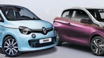 2014 Renault Twingo and Peugeot 108