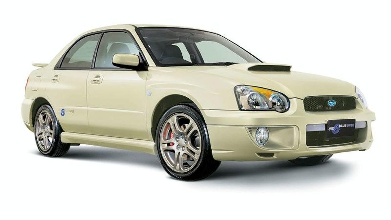 Limited Edition Subaru Impreza WRX Clubspec Evo 8