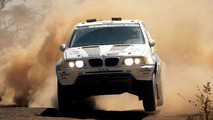 BMW X-raid X5 at Dakar Rallye 2004
