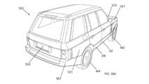 Jaguar Land Rover aerodinamik patent