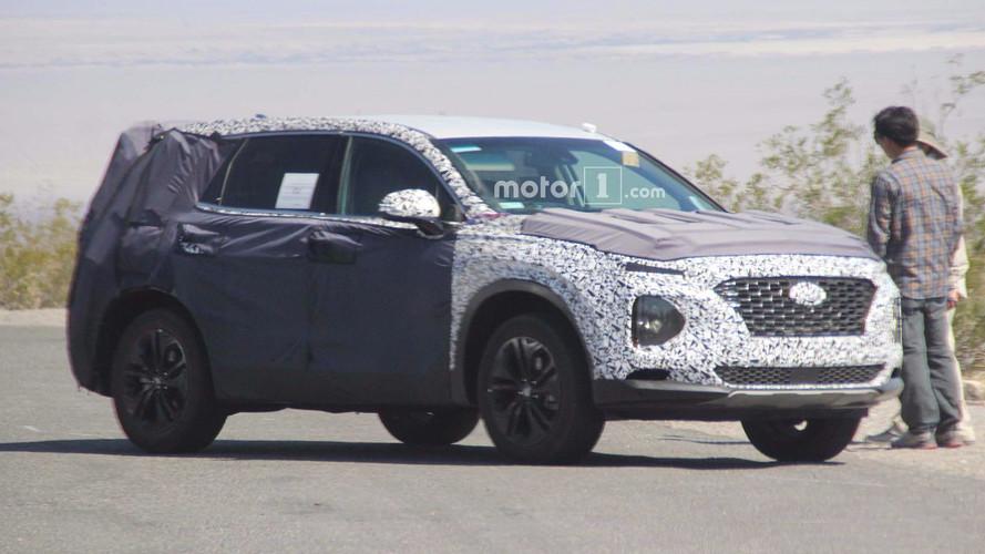 Hyundai Santa Fe'nin yüzü Kona'yı andırıyor