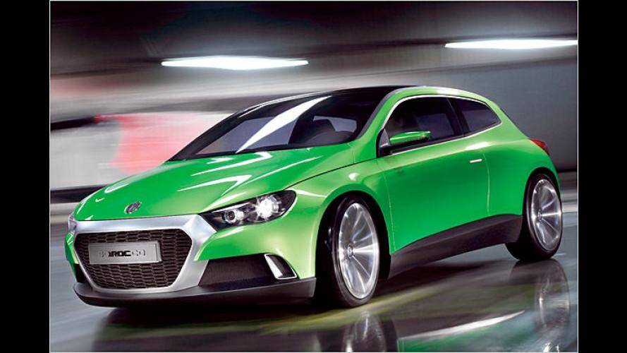 VW so sportlich wie nie: Erster Ausblick auf den Scirocco
