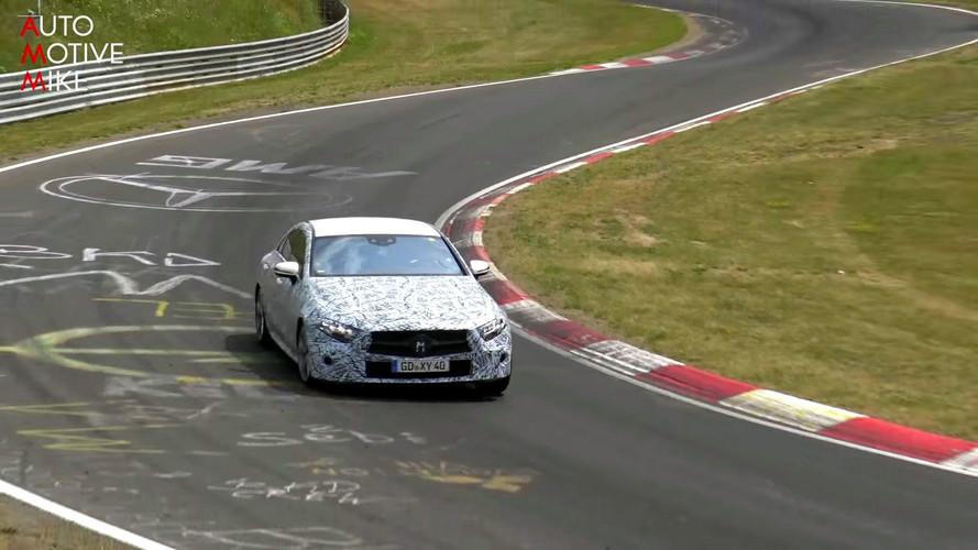 2018 Mercedes CLS casus videosu ekran görüntüleri