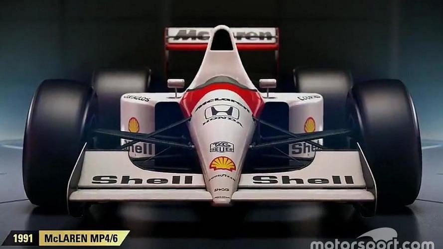 VÍDEO: F1 2017 terá McLaren do tri de Senna no modo clássico