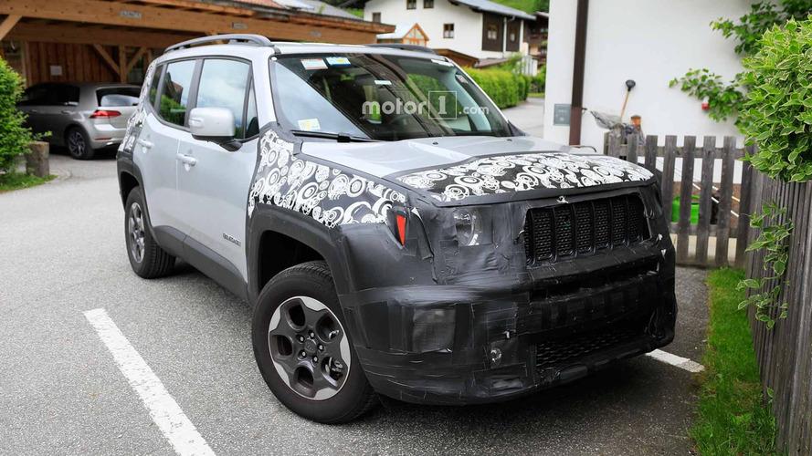 Makyajlı Jeep Renegade yakından görüntülendi
