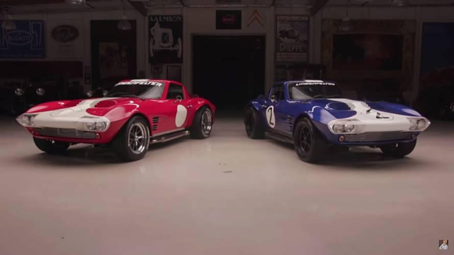 Superformace Corvette Grand Sports Visit Jay Leno's Garage