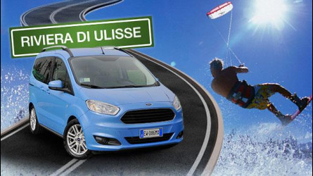 In auto vi portiamo a fare kitesurf sulla Riviera di Ulisse