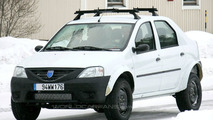 Dacia Logan SUV spy photos