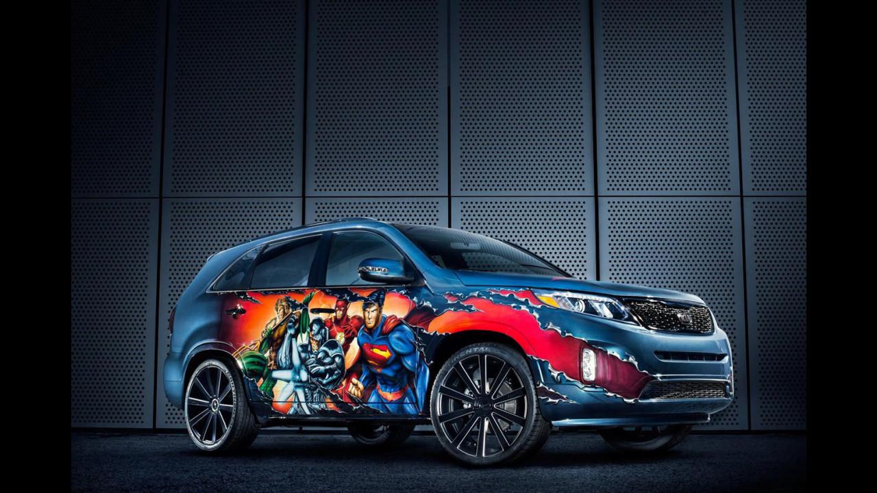 Kia Sorento Justice League, la SUV nata per celebrare la