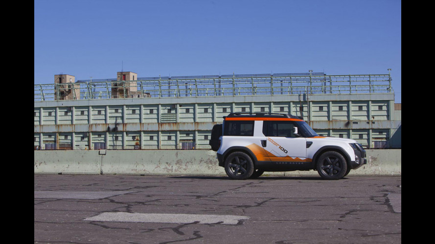 Land Rover DC100 Defender concept Expedition version