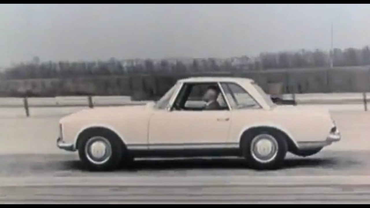 VÍDEO: Homenagem da Mercedes às seis décadas do mítico SL
