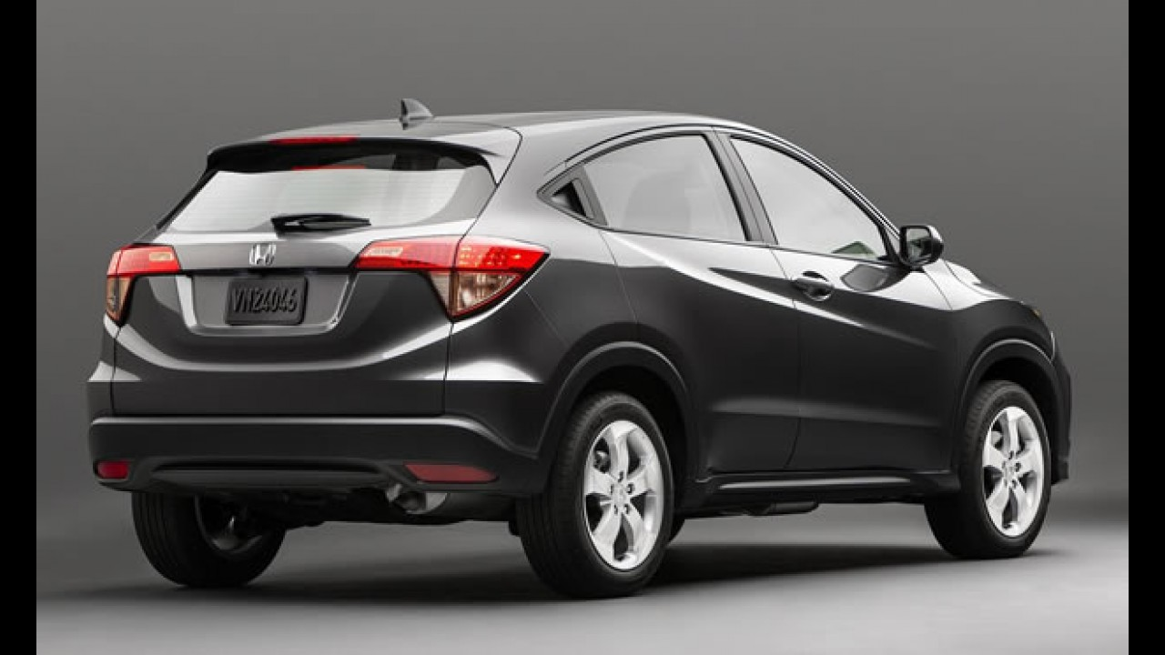 Honda Vezel é apresentado como HR-V no Salão de Nova York