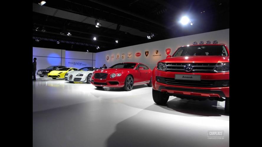 Fotos: Máquinas do Grupo Volkswagen na pré-estreia do Salão do Automóvel