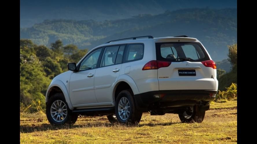 Mitsubishi lança a Pajero Dakar HPE V6 Flex 2012 fabricada no Brasil por R$ 134.990
