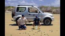 Suzuki Jimny é escolhido como carro oficial do Projeto Tamar