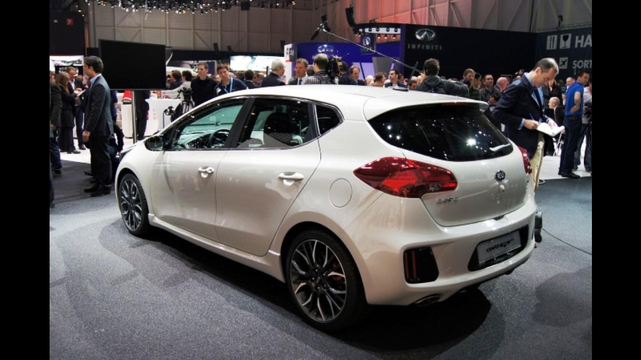 Salão de Genebra: Kia Cee'd GT de 204 cv é destaque da marca