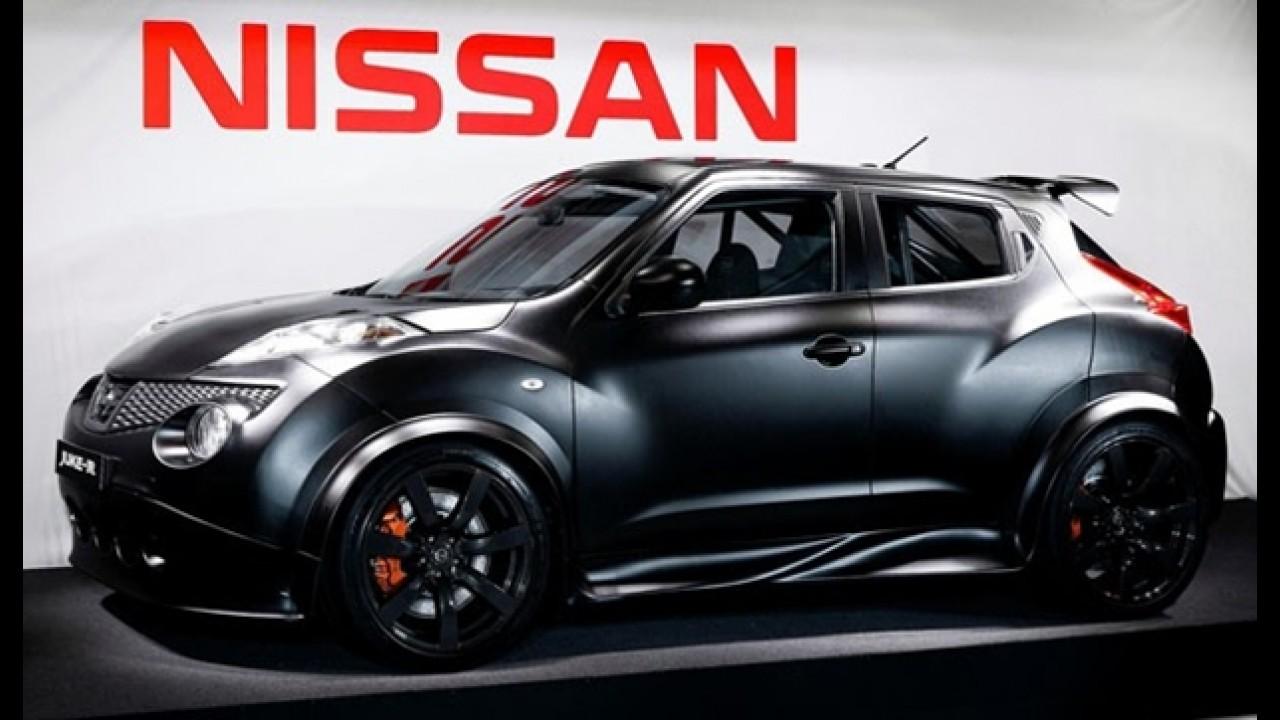 Nissan revela primeira foto do super crossover Juke-R