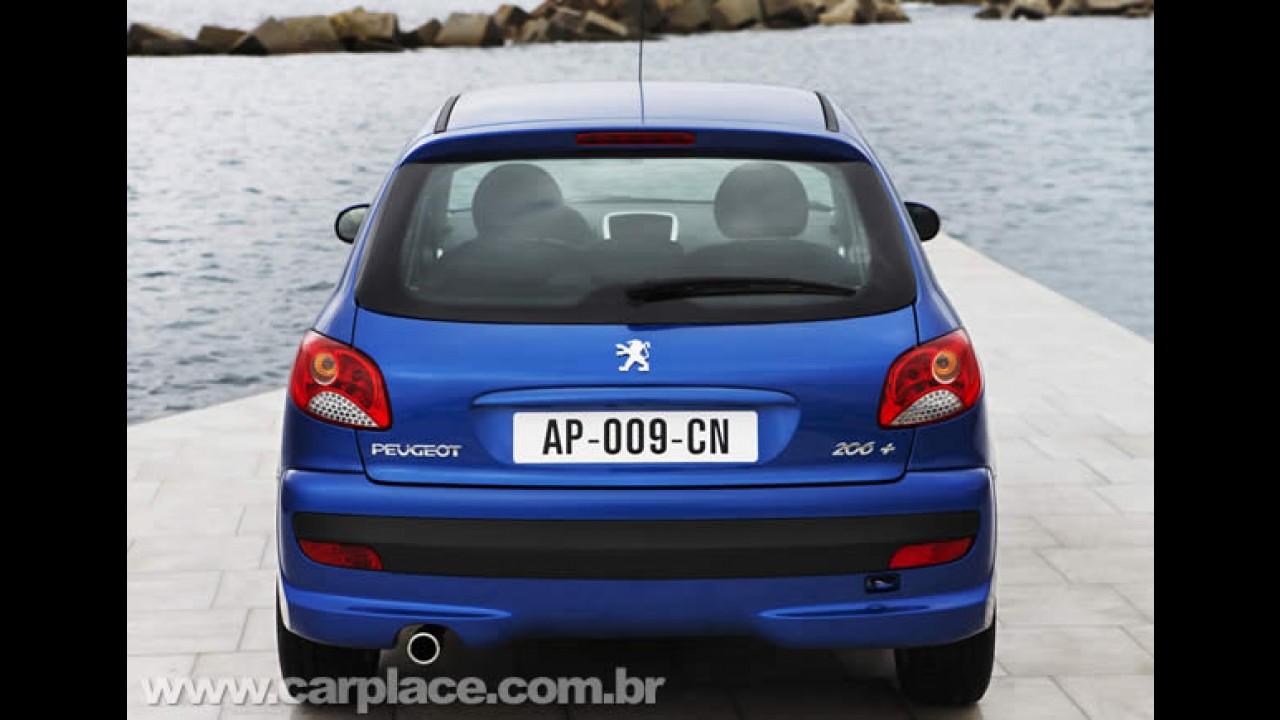 Peugeot encerrará produção do 206 na Europa em 2011