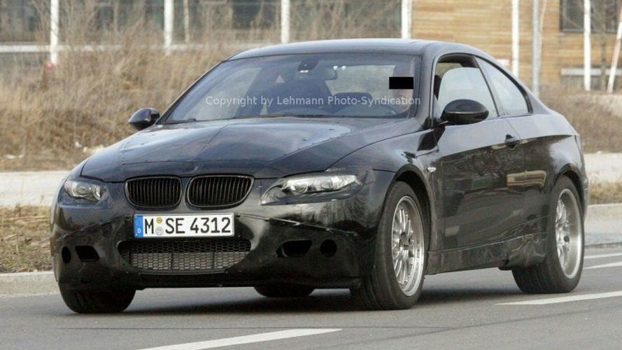 New BMW M3 Coupe First Spy Photos