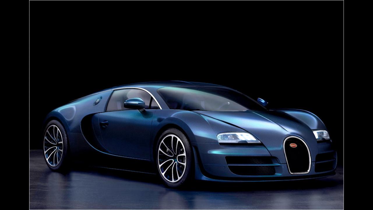 Bugatti Veyron Super Sport: 431 km/h