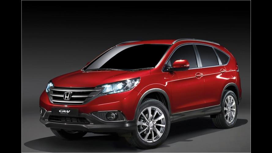 Honda: Erste Bilder vom europäischen CR-V
