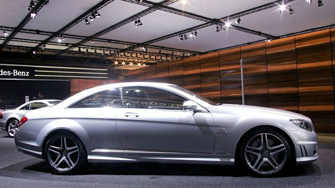 New Mercedes CL 65 AMG