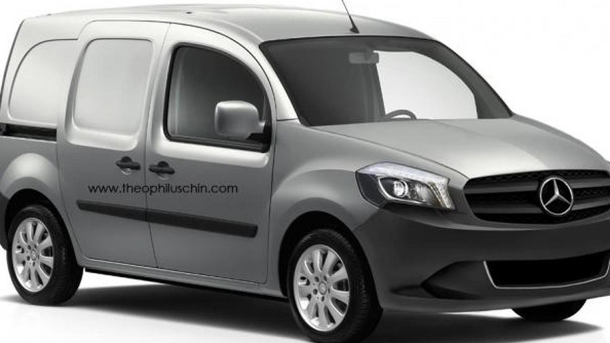 Mercedes-Benz Citan rendered plus latest spy photos