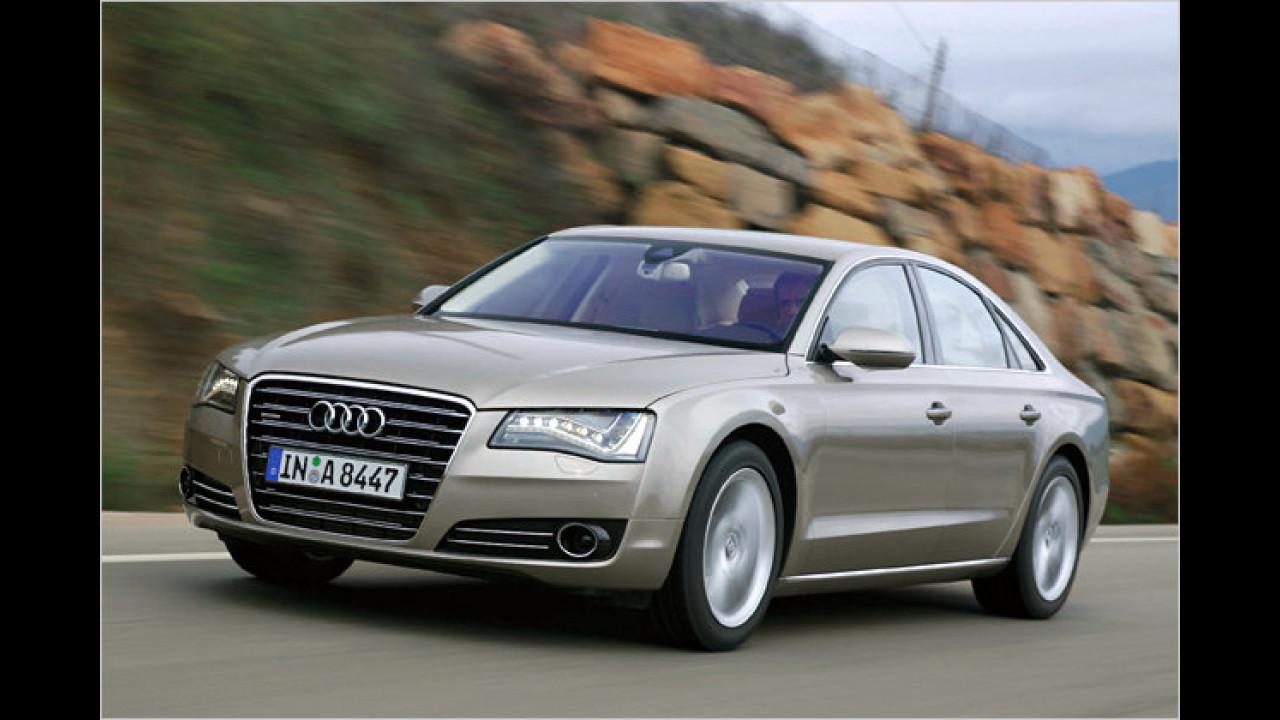 Oberklasse: Audi A8 3.0 TDI quattro tiptronic