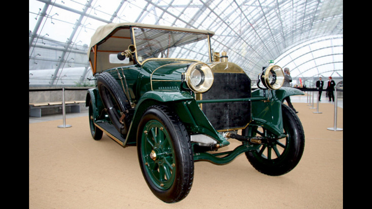Mercedes Kardanwagen Typ 14 (1914) von Ferdinand I. von Bulgarien