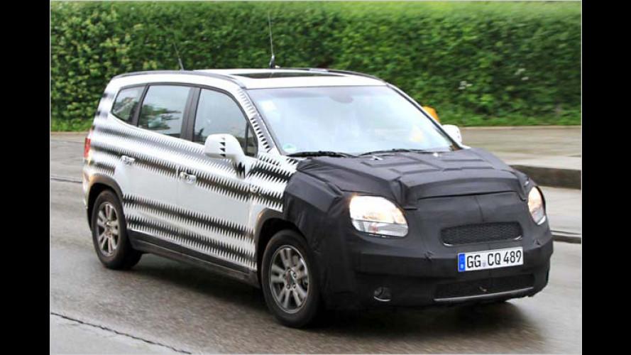 Erwischt: Der neue Chevrolet Orlando kommt 2011