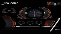 BMW zeigt digitales Instrumentendisplay