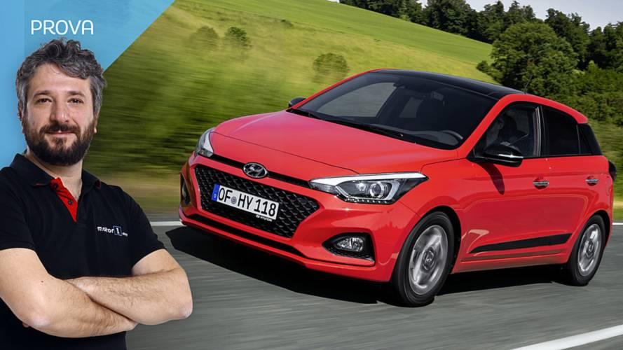 Hyundai i20 restyling, prova di maturità