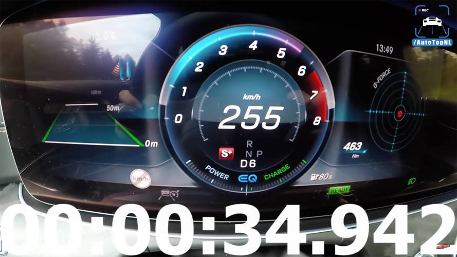 Watch The New Mercedes CLS450 Hit Top Speed In 34 Seconds