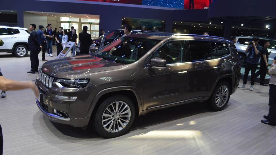 Jeep Grand Commander Live From Beijing