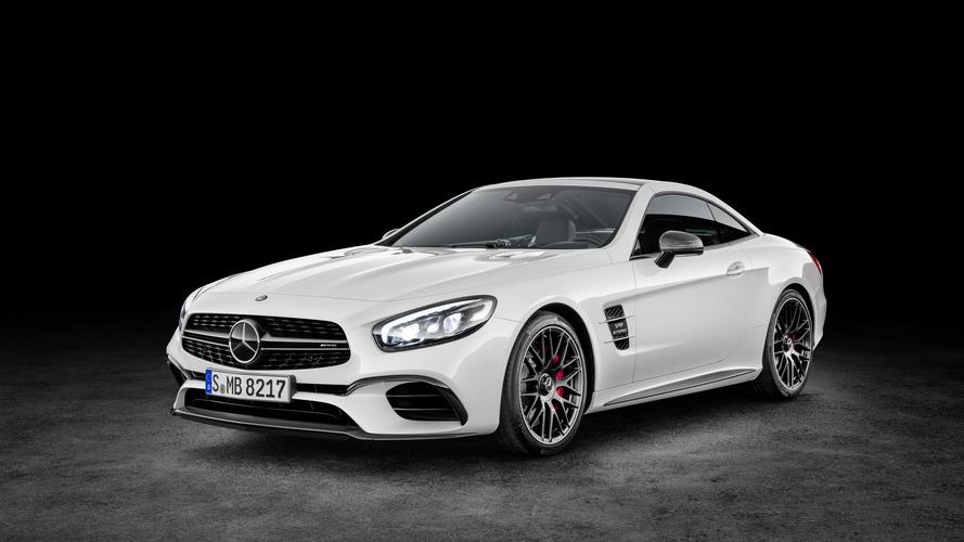 Mercedes-Benz SL facelift makes surprise web debut