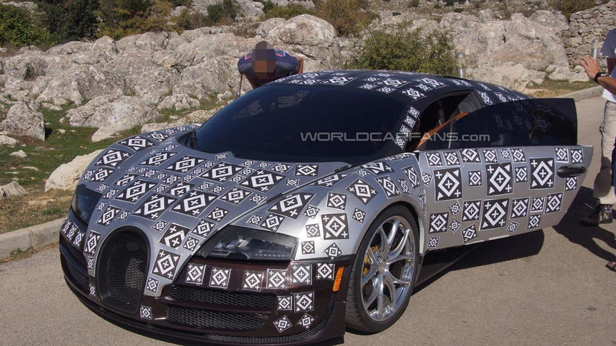 Bugatti Chiron rumored to get 500 km/h speedometer and electric turbos