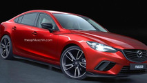 Mazda6 facelift receives the MPS treatment via render